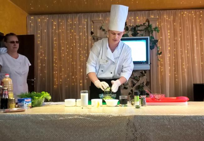 Кулинарный мастер-класс в горпо «Урал»