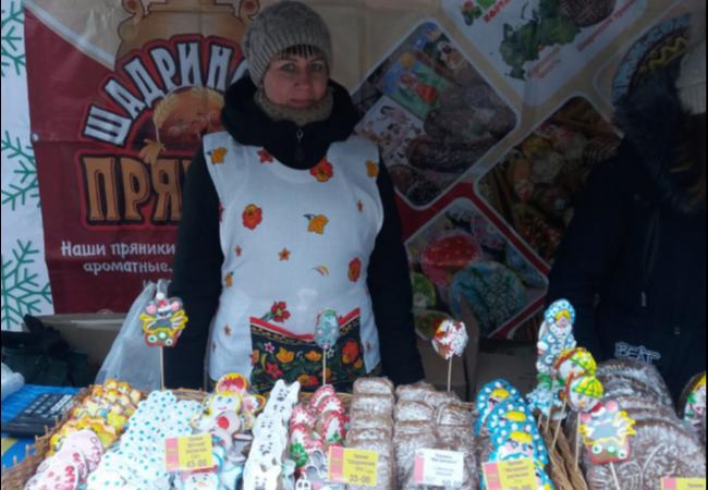 Потребительская кооперация приняла участие в рождественской ярмарке