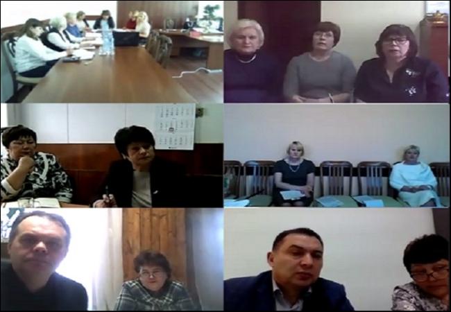 Впервые в режиме ВКС проведено собрание представителей потребительских кооперативов Курганского Облпотребсоюза