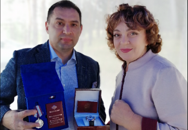 Поздравление и вручение награды Бажитову Алексею Васильевичу!